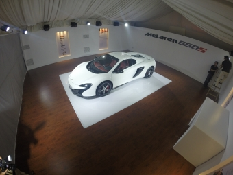McLaren 650S Launching  Event