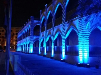 DAI Dar Al Athar Al Islamiyyah Architectural lighting