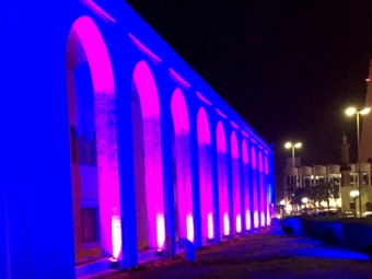 Architectural lighting for Bayan Palace