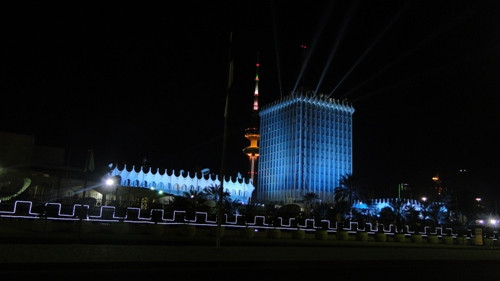Architectural lighting for Ministry of Information